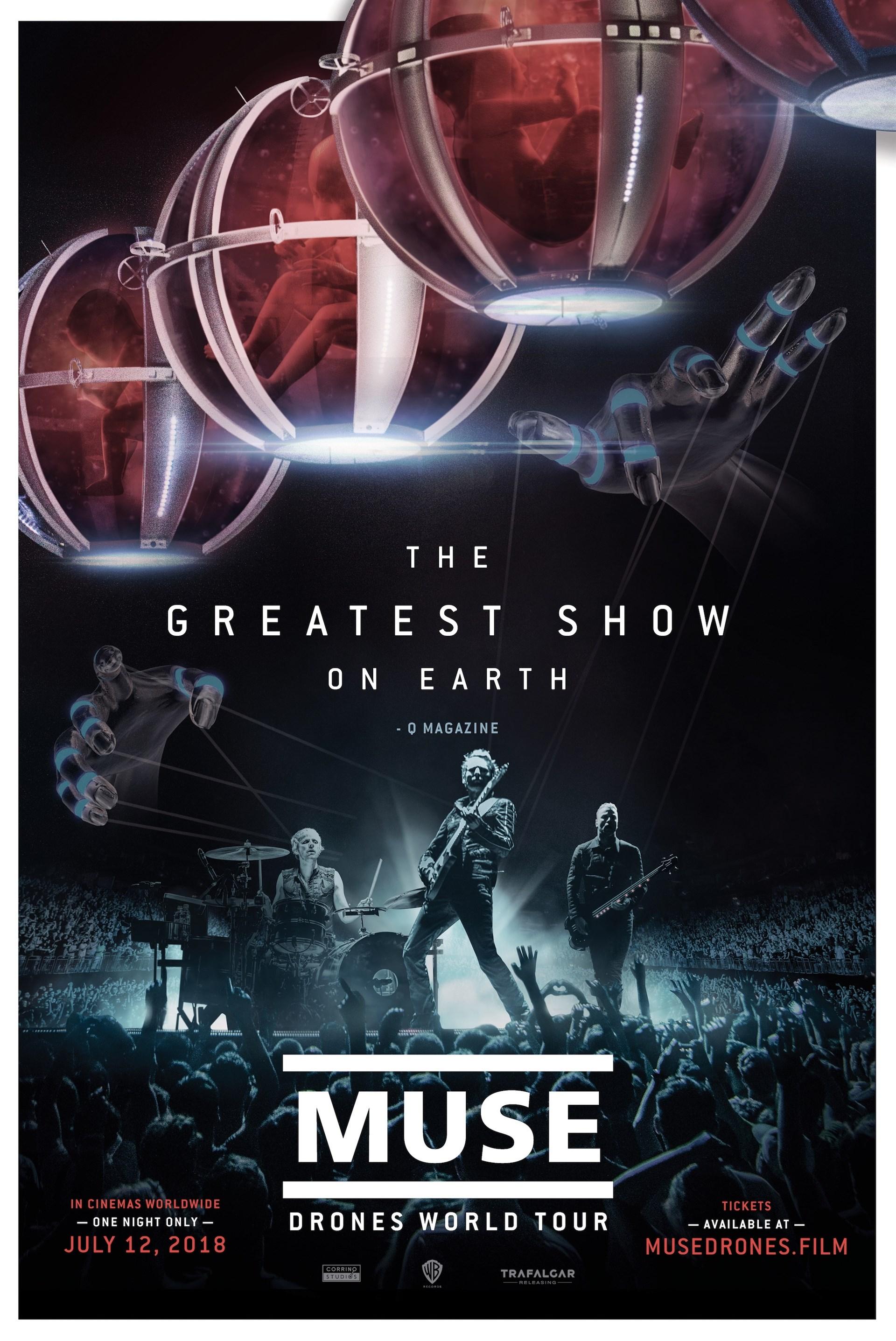 Photo of MUSE: Drones World Tour en Cinemark