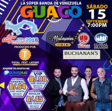 Photo of La súper banda de Venezuela «Guaco» llega a Panamá