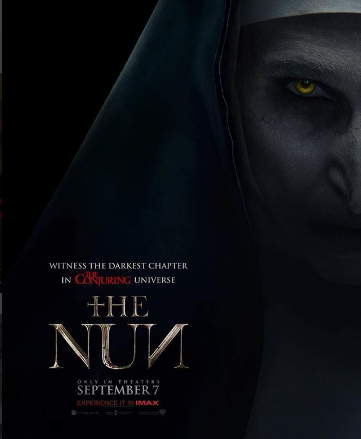 Photo of Warner Bros lanzo nuevo poster de «The Nun»