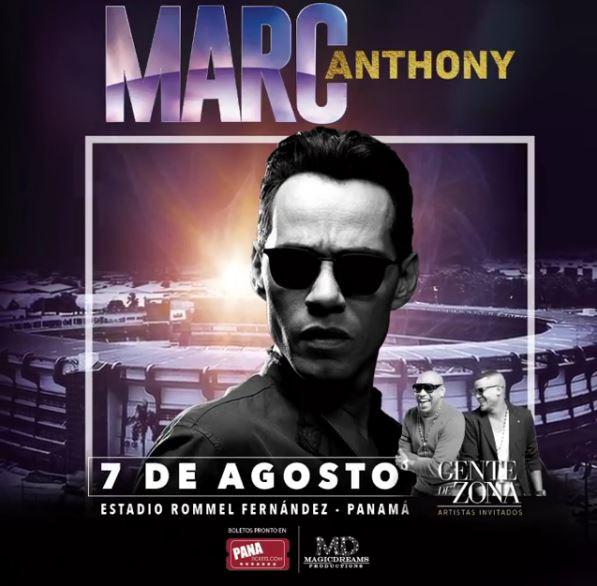 Photo of Concierto de Marc Anthony y Gente de Zona en Panamá