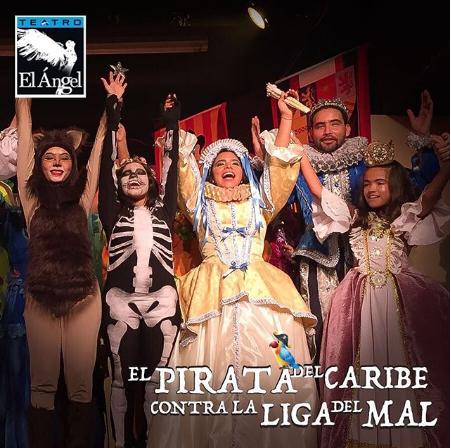 Photo of Disfruta este domingo de la obra 'El Pirata del Caribe contra la Liga del Mal '