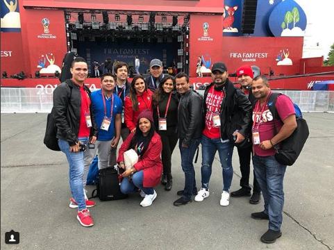 Photo of Folklore panameño se hace sentir en el Mundial Rusia 2018