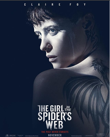 Photo of Lanzan tráiler de 'The Girl in the Spider's Web'