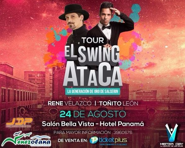 Photo of El Tour de Swing Ataca en Panamá