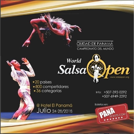 Photo of «World Salsa Open» llega a Panamá