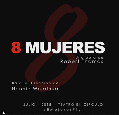"Photo of Ven disfrutar de la obra ""8 Mujeres"""