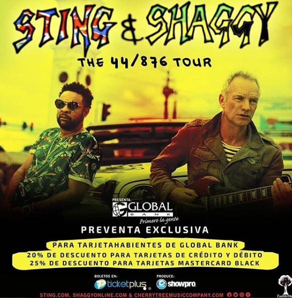 Photo of Ya están a la venta los boletos para el concierto de 'Sting & Shaggy'