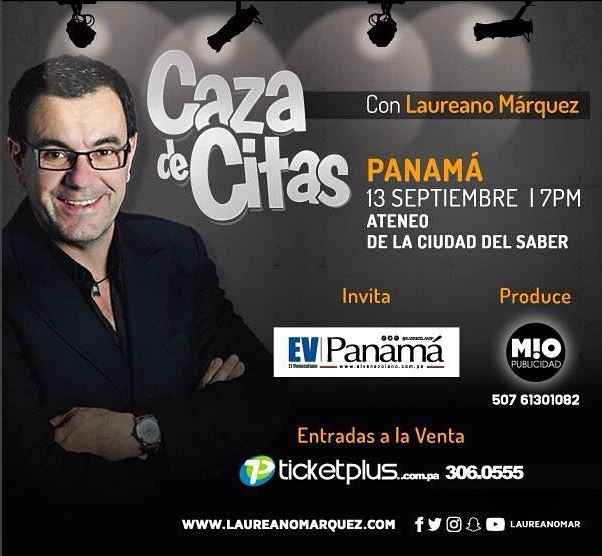 Photo of 'Caza de Citas' de Laureano Marquez en Panamá