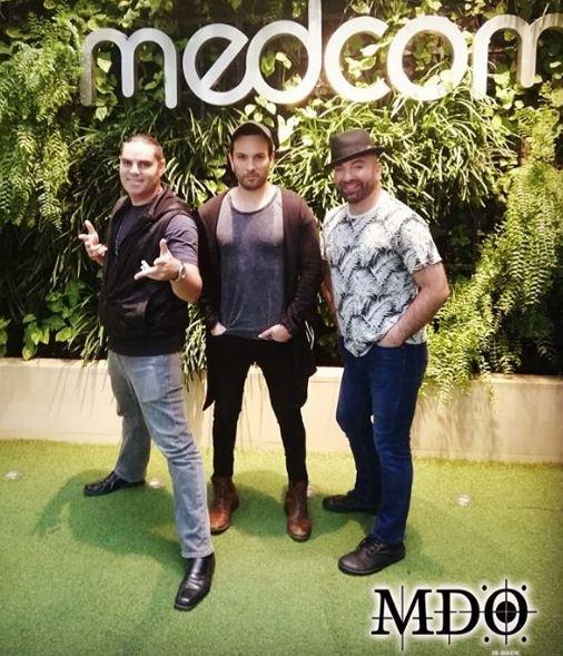Photo of MDO en Panamá a promocionando el concierto que celebra sus 20 años de carrera