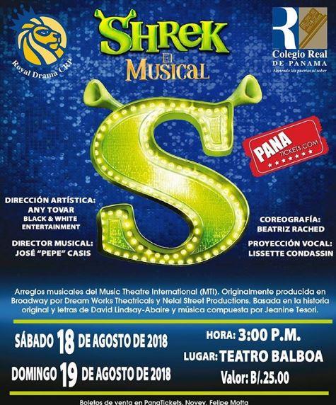 Photo of Shrek el Musical 2018 en Panamá