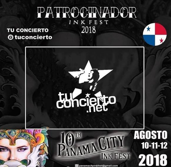 Photo of Tuconcierto en 'Panama City Ink Fest 2018'