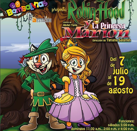 "Photo of Muy pronto la obra ""Robin Hood y la Princesa Marion"""