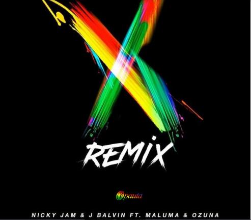 Photo of Nicky Jam y J Balvin estrenan remix de 'X'