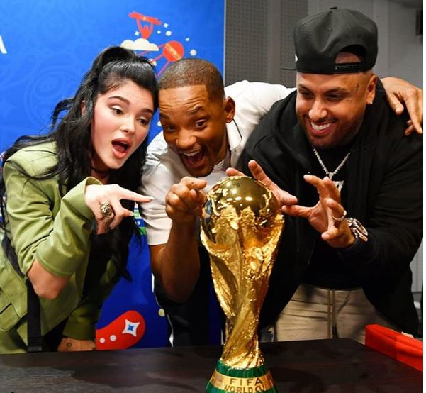 Photo of Will Smith, Nicky Jam y Era Istrefi listos para la presentación de clausura del Mundial Rusia 2018