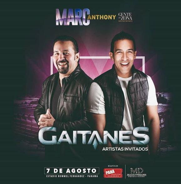 Photo of Gaitanes es el invitado especial para el concierto de Marc Anthony