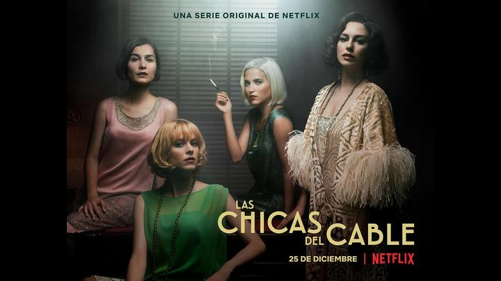 Photo of Netflix lanza tráiler de «Las chicas del cable»