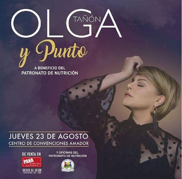 Photo of En concierto Olga Tañon en Panamá