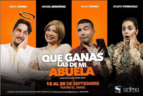 """Photo of Teatro el Ángel presenta la obra """"Que ganas las de mi abuela"""""""