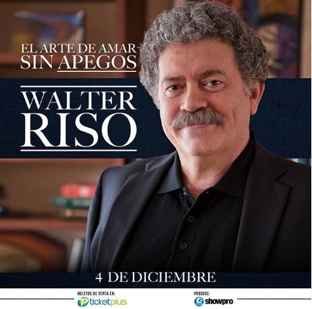 Photo of Descuento al 20% a las entradas para «Walter Riso»