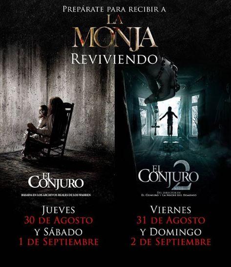Photo of Revive «El Conjuro 1 y 2» en las salas de Cinemark