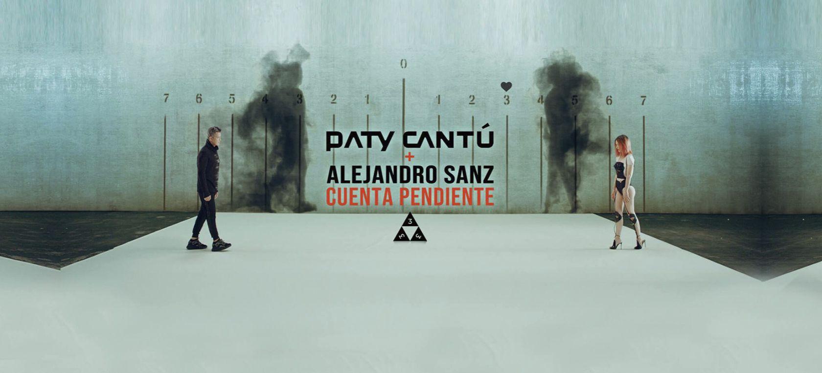 Photo of Paty Cantú y Alejandro Sanz estrenan «Cuenta Pendiente»