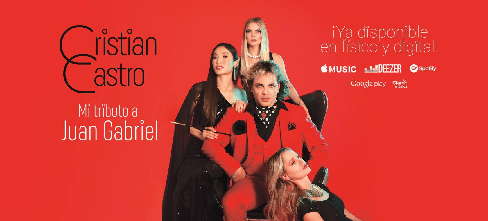Photo of Cristian Castro presenta su nuevo álbum 'Mi tributo a Juan Gabriel'