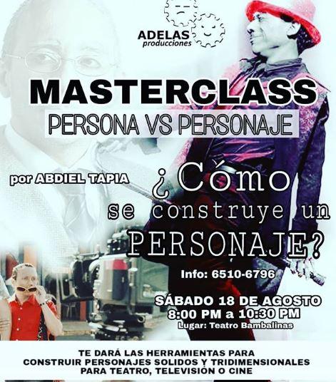 Photo of Masterclass con Abdiel Tapia