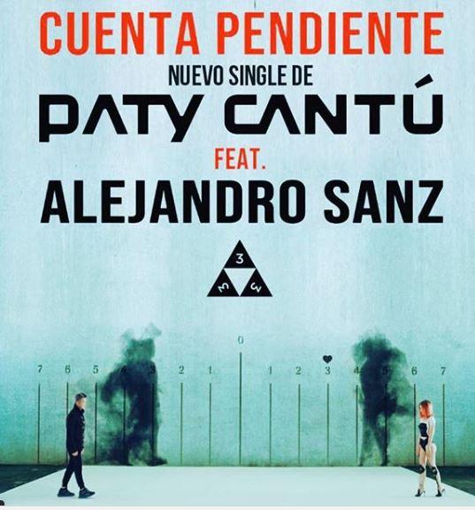 Photo of Paty Cantú presenta el nuevo single 'Cuenta pendiente' junto Alejandro Sanz