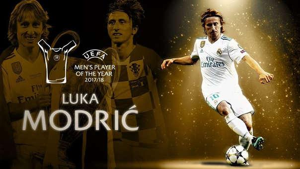 Photo of Luka Modric fue elegido mejor jugador la UEFA