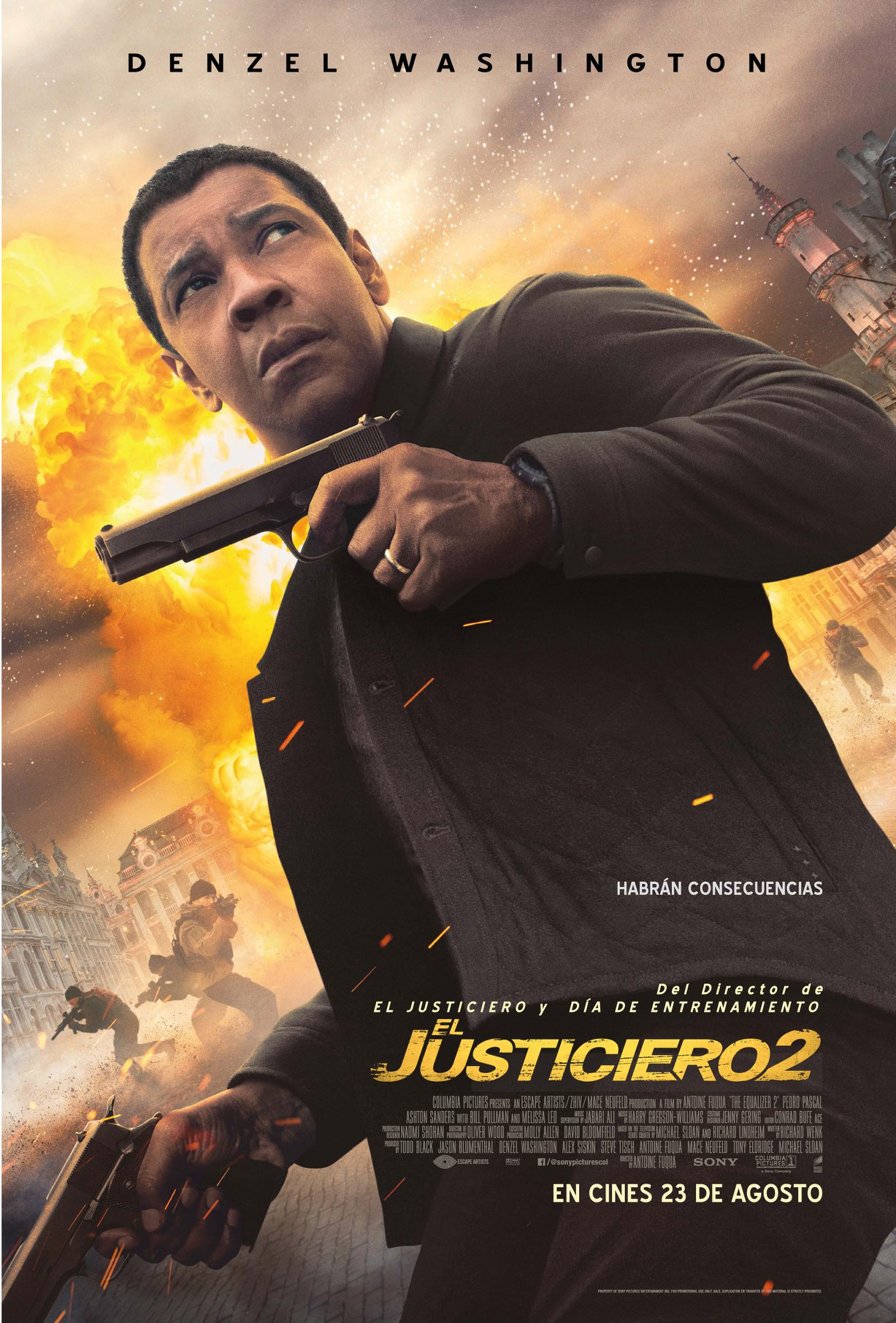 Photo of Jueves de estreno de Cinemark 'El justiciero 2'