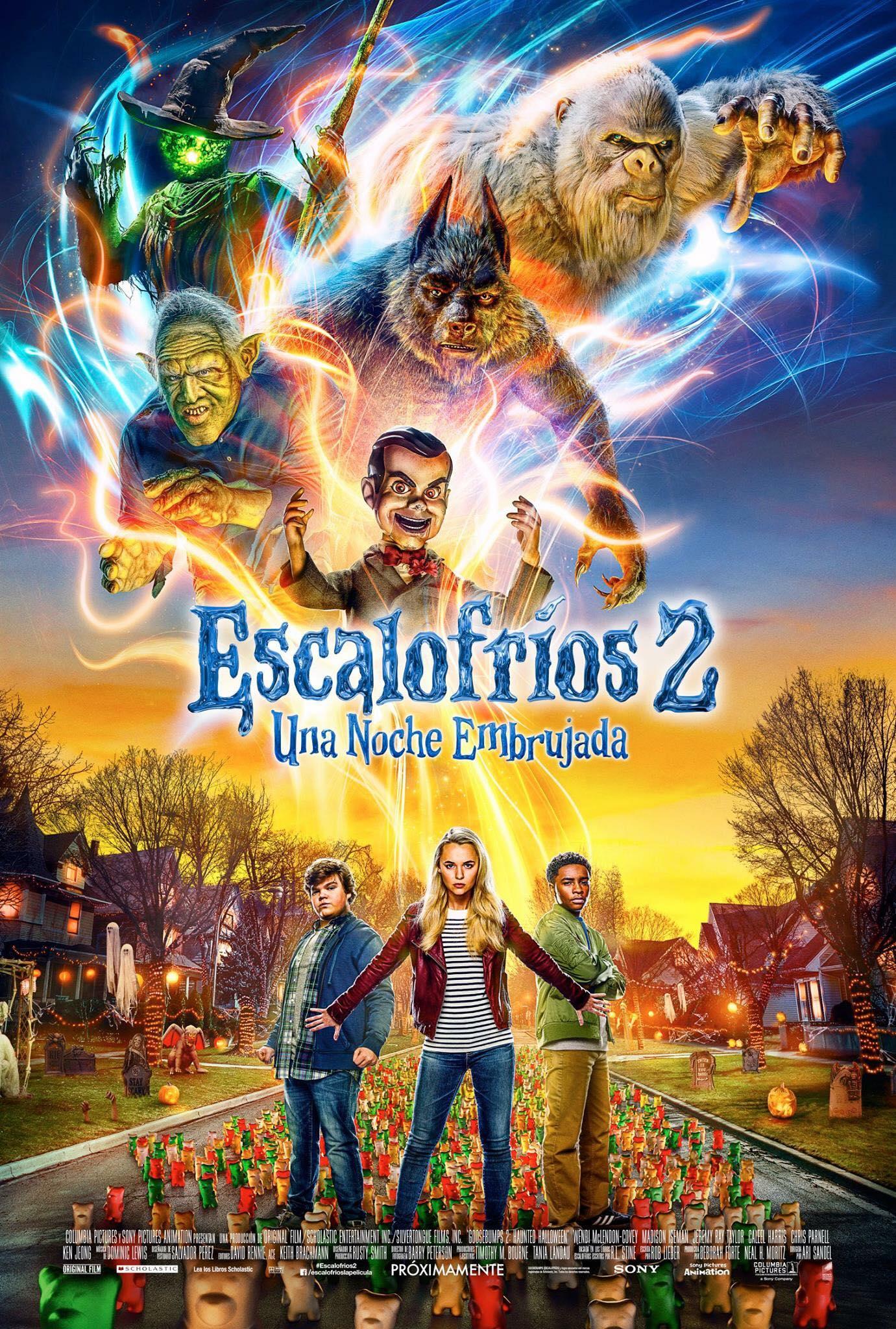 Photo of Lanzan el tráiler oficial de 'Escalofríos 2: Una noche embrujada'