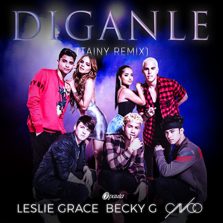 Photo of Leslie Grace, Becky G y CNCO presentan 'Díganle'