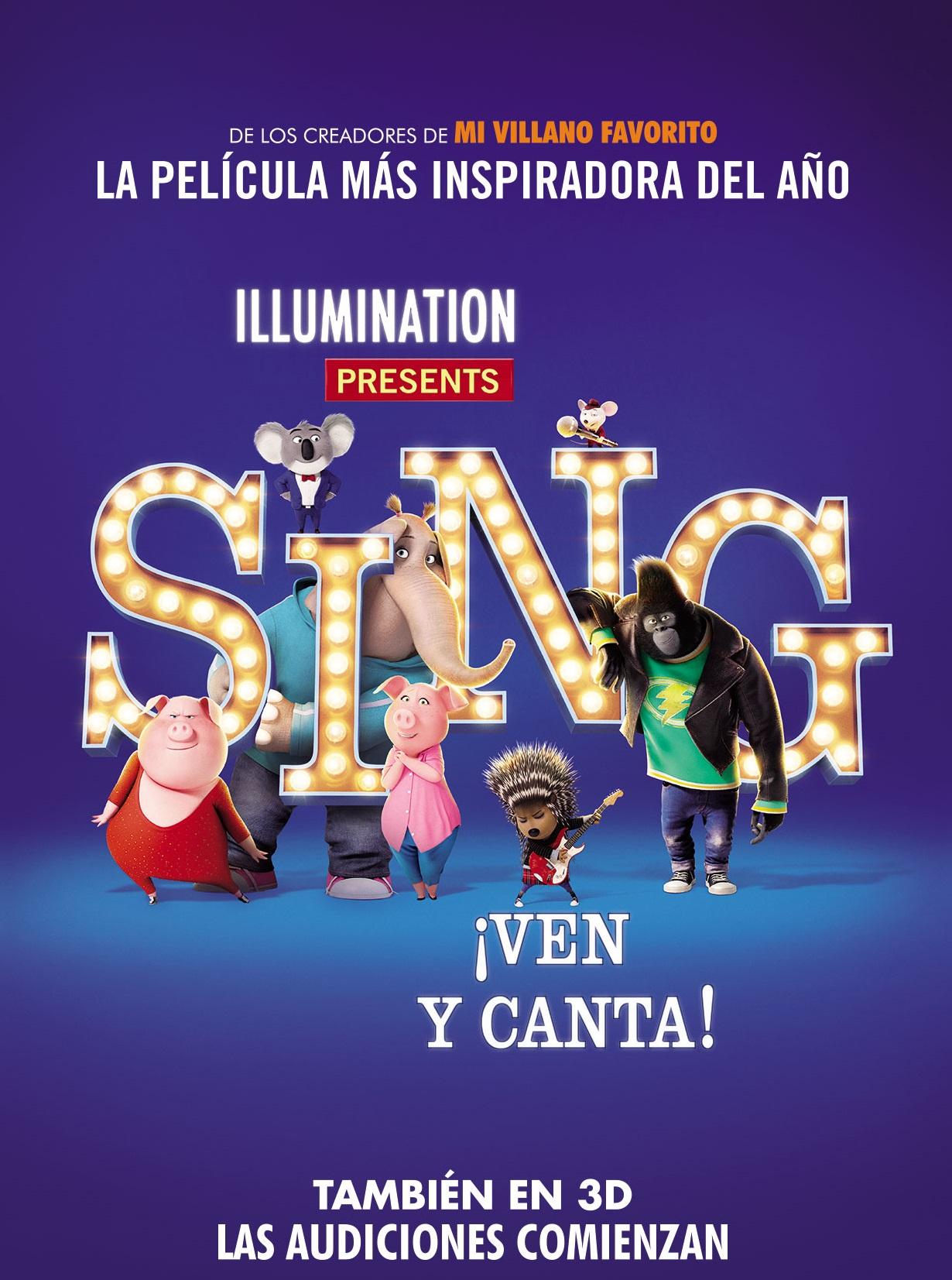 Photo of Festival Infantil Illumination en Cinemark presenta: SING ¡Ven y Canta!