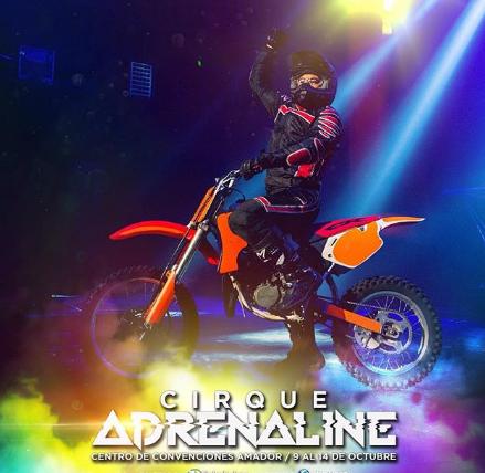 """Photo of Descuento al 25% para el """"Cirque Adrenaline"""""""