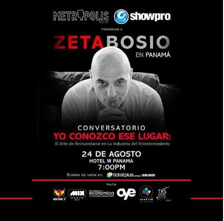 Photo of Esta noche llega Zeta Bosio a Panamá