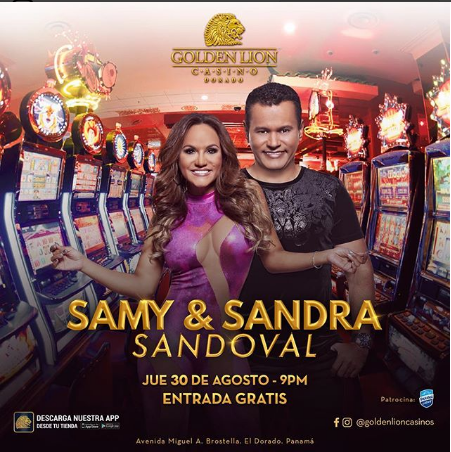 Photo of Samy y Sandra Sandoval en Golden Lion