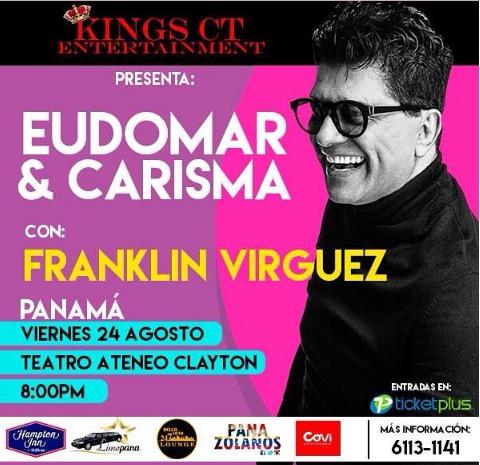 Photo of En Panamá «Eudomar & Carisma» con Franklin Virguez