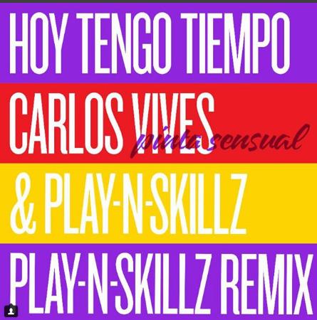 Photo of Carlos Vives se une a Play-N- Skillz para el remix de «Hoy Tengo Tiempo»
