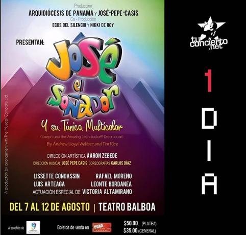 """Photo of A solo 1 dia para el estreno de «José El Soñador y su Túnica Multicolor"""""""