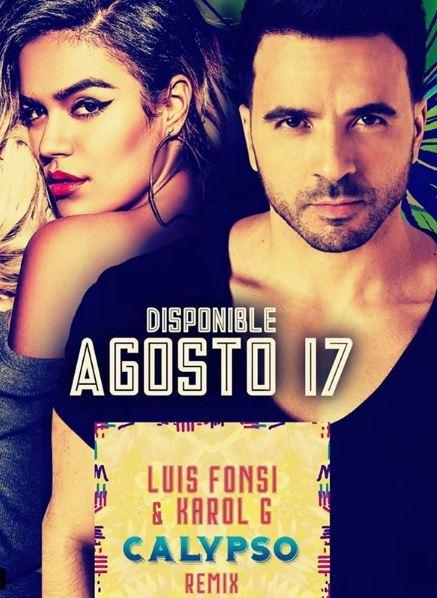 Photo of Luis Fonsi presenta el remix de 'Calypso' con Karol G