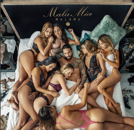 Photo of Maluma estrena nuevo tema musical «Mala Mia»