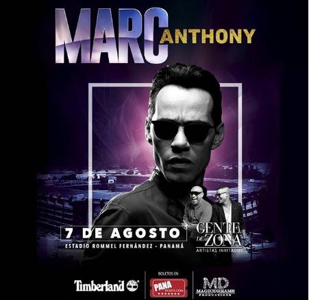 Photo of Esta noche el concierto de Marc Anthony en Panamá