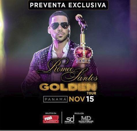 Photo of Preventa para el concierto de Romeo en Panamá