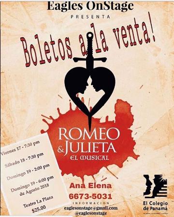 Photo of Teatro La Plaza estrena Romeo y Julieta «El Musical»