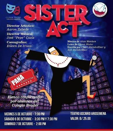 Photo of En octubre llega el musical «Sister Act»