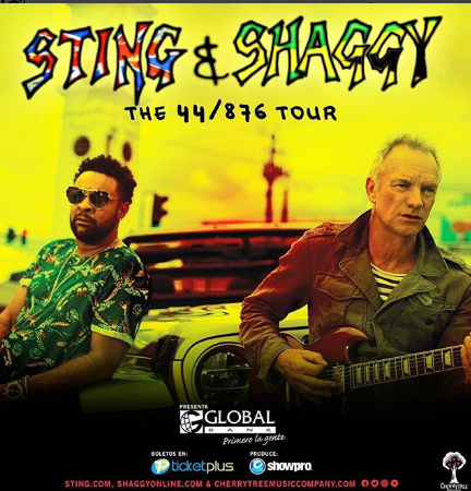 "Photo of ""Sting & Shaggy"" en Panamá"