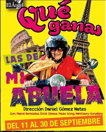 Photo of Obra «Qué Ganas las de mi Abuela»
