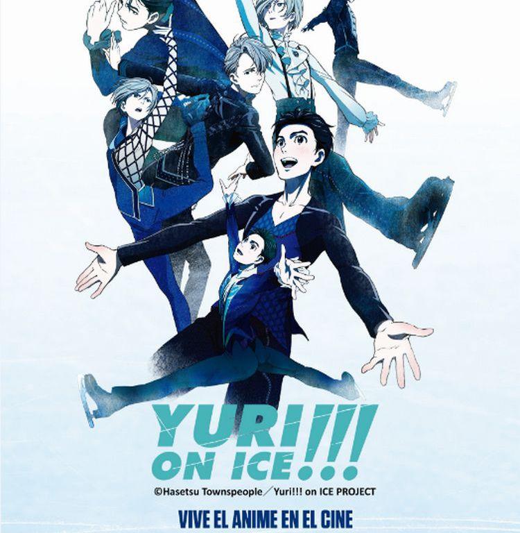 Photo of Función especial en Cinemark de «Yuri on Ice»