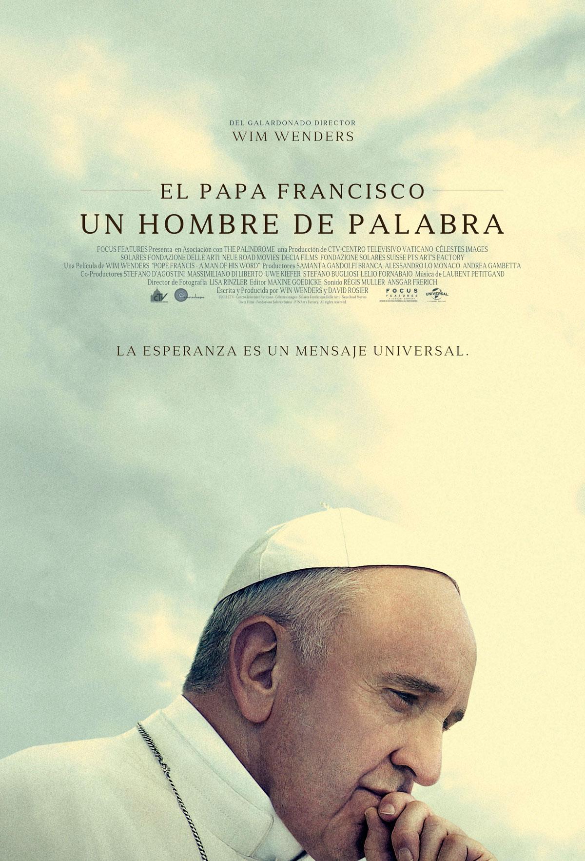 Photo of Jueves de estreno en Cinemark con Papa Francisco: Un hombre de palabra