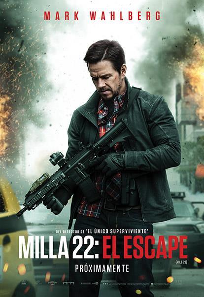 Photo of Estreno en Cinemark con «Milla 22: El escape»